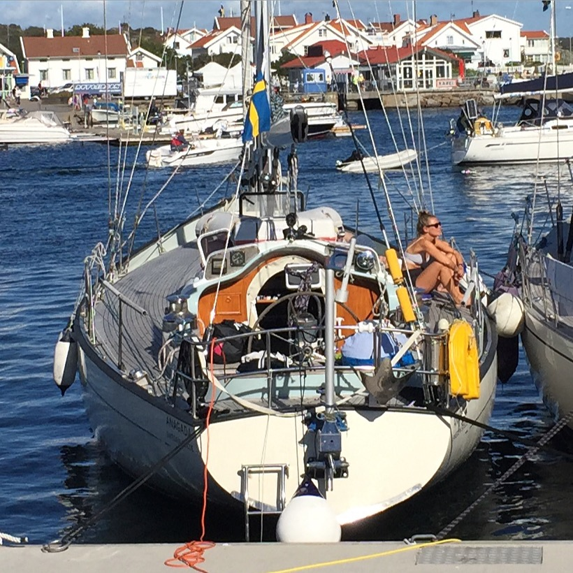 Kap Horn-rundaren S/Y Anagada